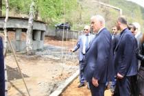 7. Обустройство парка у минерального источника  в поселке Дзау
