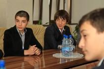 7. Встреча с членами футбольной командой «Барсаланы»