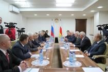 7. Встречи с делегациями, прибывшими в Цхинвал по случаю празднования 25-летия образования Парламента Республики Южная Осетия (часть III)