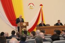 9. Торжественное заседание, посвященное 25-летию парламентаризма Республики Южная Осетия (часть I)