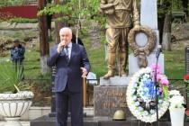 9. Траурное мероприятие, посвященное 25-ой годовщине разрушительного землетрясения в Дзауском районе (часть I)