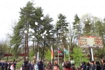 9. Траурное мероприятие, посвященное 25-ой годовщине разрушительного землетрясения в Дзауском районе (часть II)