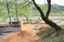 9. Обустройство парка у минерального источника  в поселке Дзау