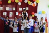 8. Последний звонок в школах Знаурского района (часть IV)