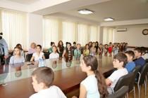 2. Встреча с коллективом детского хореографического ансамбля «Кафт»