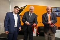 4. Церемония открытия мультимедийного центра Sputnik в Цхинвале