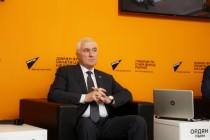 6. Церемония открытия мультимедийного центра Sputnik в Цхинвале