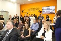 7. Церемония открытия мультимедийного центра Sputnik в Цхинвале
