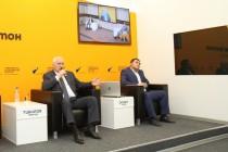 8. Церемония открытия мультимедийного центра Sputnik в Цхинвале