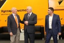 9. Церемония открытия мультимедийного центра Sputnik в Цхинвале