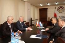 9. Рабочий визит заместителя Секретаря Совета безопасности Российской Федерации Рашида Нургалиева в Южную Осетию