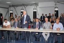 2. Церемония открытия боксерского зала во Дворце спорта «Олимп»