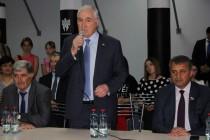 3. Церемония открытия боксерского зала во Дворце спорта «Олимп»