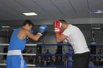 6. Церемония открытия боксерского зала во Дворце спорта «Олимп»