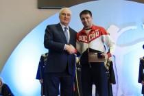 1. Чествование чемпиона XXXI Олимпийских игр Сослана Рамонова в Южной Осетии (часть II)