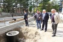 2. Инспекция строительства здания Государственного драматического театра
