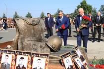 4. Траурная церемония, посвященная 12-й годовщине Бесланской трагедии (часть I)