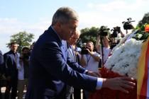 4. Траурная церемония, посвященная 12-й годовщине Бесланской трагедии (часть II)