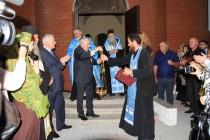 9. Церемония открытия Храма Рождества Пресвятой Богородицы в Ленингоре (часть II)