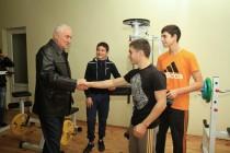 2. Церемония открытия в г. Цхинвал спортзала по улице Хазби Гаглоева