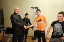 3. Церемония открытия в г. Цхинвал спортзала по улице Хазби Гаглоева