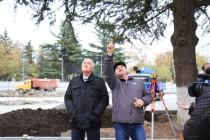3. Инспекция строительных работ в Цхинвале (часть III)