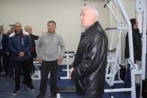 5. Церемония открытия в г. Цхинвал спортзала по улице Целинников