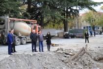 5. Инспекция строительных работ в Цхинвале (часть III)
