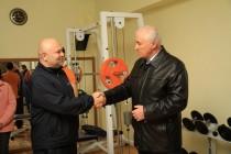 7. Церемония открытия в г. Цхинвал спортзала по улице Хазби Гаглоева