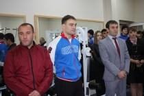 7. Церемония открытия в г. Цхинвал спортзала по улице Целинников