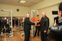 9. Церемония открытия в г. Цхинвал спортзала по улице Хазби Гаглоева