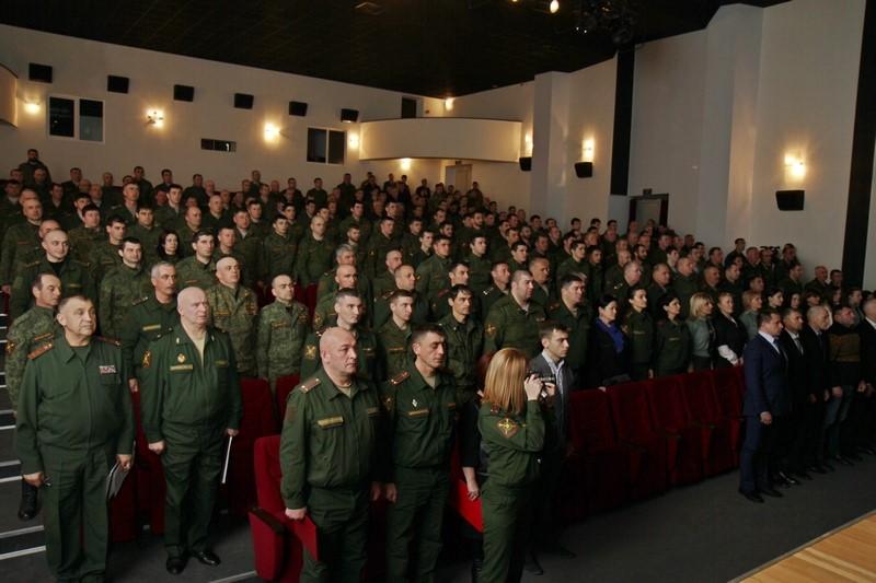 Отчетное собрание Министерства обороны (часть I)
