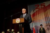 2. Торжественное собрание в честь 25-ой годовщины проведения Референдума о независимости Республики Южная Осетия (часть I)