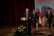 2. Торжественное собрание в честь 25-ой годовщины проведения Референдума о независимости Республики Южная Осетия (часть II)