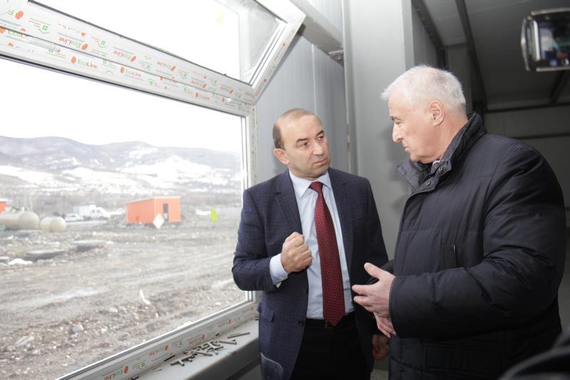 Встреча с владельцем агрохолдинга «Евродон» Вадимом Ванеевым