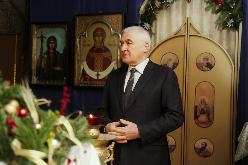 Праздничное Богослужение в честь Рождества Христова