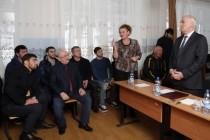 1. Встреча с населением с. Зар Цхинвальского района