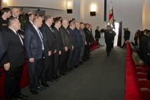 1. Торжественное собрание, посвященное 25-й годовщине образования ОМОН МВД Республики Южная Осетия (часть I)