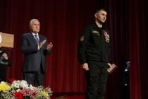 1. Торжественное собрание, посвященное 25-й годовщине образования ОМОН МВД Республики Южная Осетия (часть II)