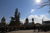 1. Церемония возложения венков и цветов к памятникам защитникам Отечества (часть II)