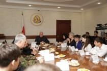 1. Встреча с отличниками боевой и политической подготовки