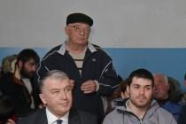 2. Встреча с населением с. Зар Цхинвальского района