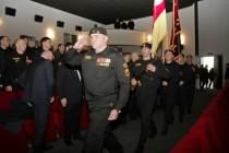 2. Торжественное собрание, посвященное 25-й годовщине образования ОМОН МВД Республики Южная Осетия (часть I)