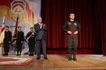 2. Торжественное собрание, посвященное 25-й годовщине образования ОМОН МВД Республики Южная Осетия (часть IV)