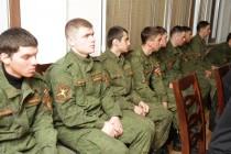 2. Встреча с отличниками боевой и политической подготовки