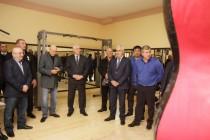 4. Церемония открытия спортивного зала на ул. Остаева в г. Цхинвал