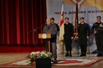 4. Торжественное собрание, посвященное 25-й годовщине образования ОМОН МВД Республики Южная Осетия (часть I)