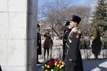 4. Церемония возложения венков и цветов к памятникам защитникам Отечества (часть I)