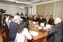 4. Встреча с отличниками боевой и политической подготовки
