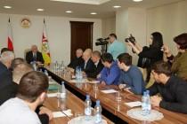 5. Встреча с представителями Федерации спортивной борьбы Российской Федерации